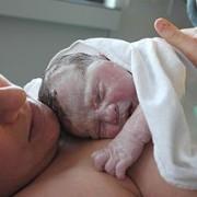 Neugeborenes Baby